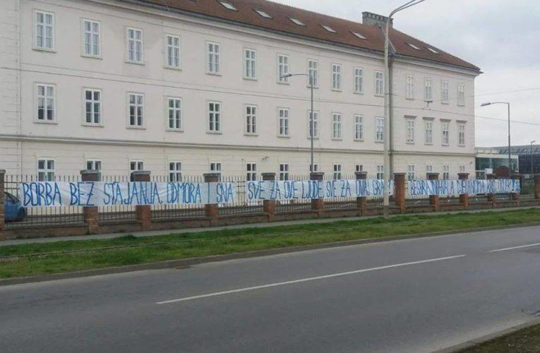 Dirljiva poruka Kohorte djelatnicima KBC Osijek