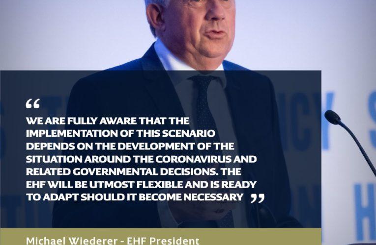 EHF donio potencijalni plan nastavka svojih natjecanja