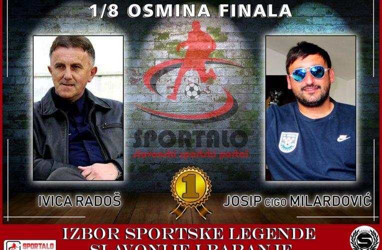 1/8 finala: Ivica Radoš vs Josip Milardović