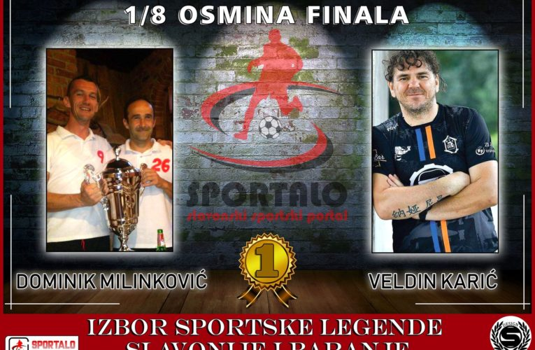 1/8 finala: Dominik Milinković vs Veldin Karić