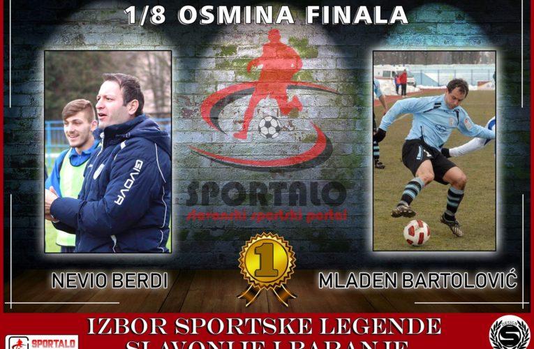 1/8 finala: Nevio Berdi vs Mladen Bartolović