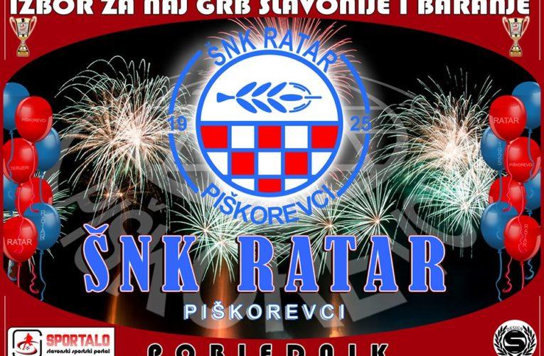 Ratar ima najljepši sportski grb Slavonije i Baranje!