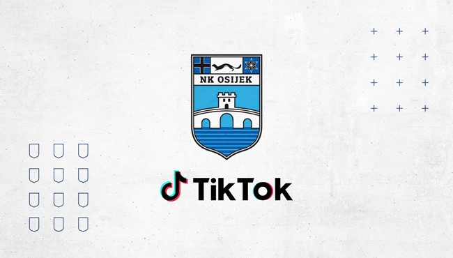 NK Osijek krenuo s Tik Tokom