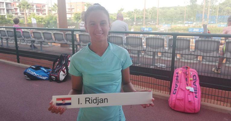 Ivona Riđan – budućnost hrvatskog tenisa