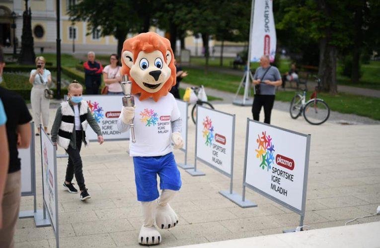 Nastavljaju se Igre mladih – Plamen Turneje radosti upaljen u Bjelovaru