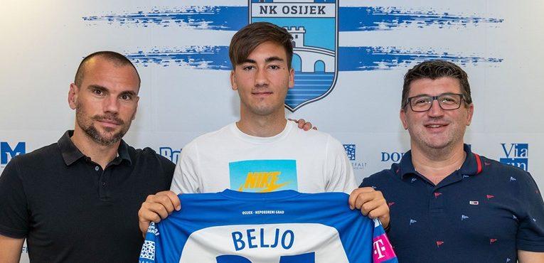 Dion Drena Beljo potpisao petogodišnji ugovor s Osijekom
