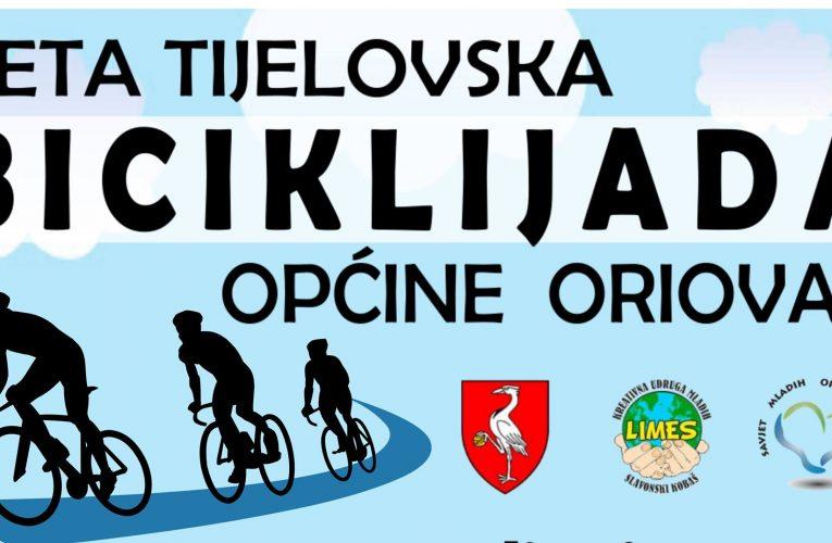 Peta Tijelovska biciklijada općine Oriovac u organizaciji Limesa i Savjeta mladih Oriovac