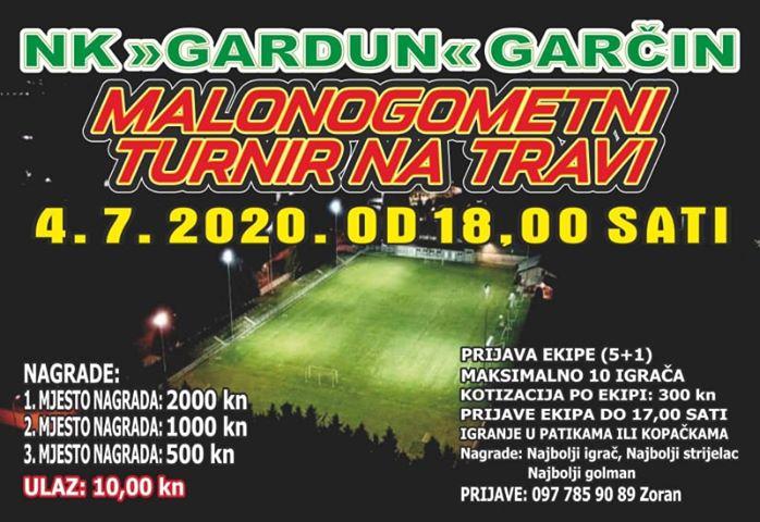 NK Gardun iz Garčina organizira malonogometni turnir