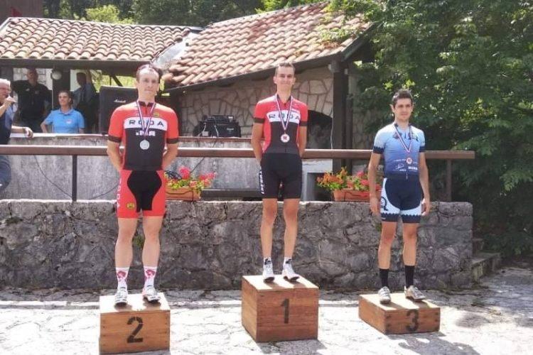 Matej Skuzin osvojio 3. mjesto na prvenstvu RH u cestovnom usponu u kategoriji elite