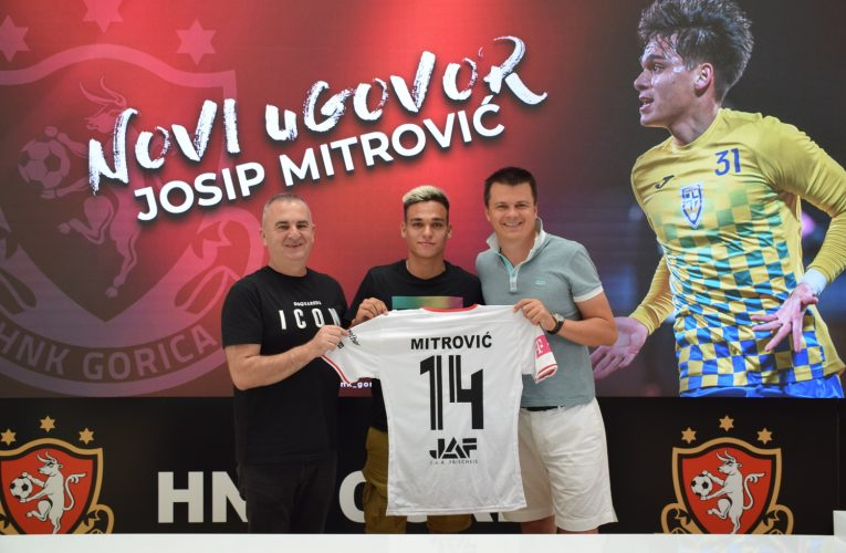 Josip Mitrović u Gorici