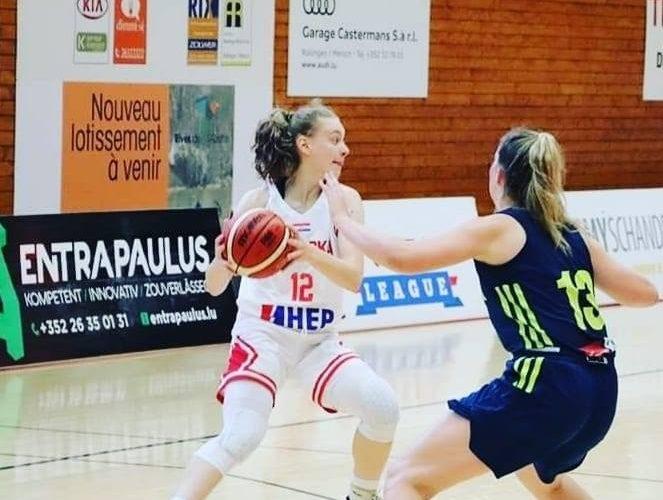 Nika Kurdija u juniorskoj reprezentaciji