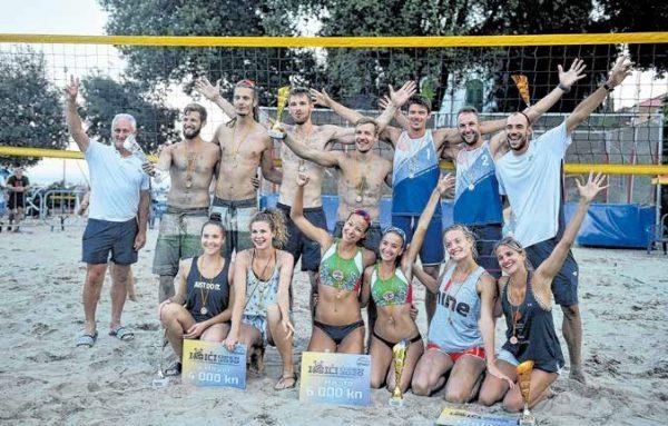 Završen je najveći turnir odbojke na pijesku u Hrvatskoj
